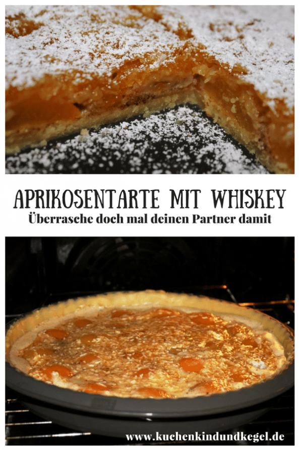 Diese Tarte ist nicht nur etwas für die Sonntagstafel, diese Aprikosentarte mit Whiskey wird euren Partner begeistern, natürlich falls er Whiskey mag. Aber auch für uns Mädels ist das was! Denn der süssliche Geschmack des Whiskey passt perfekt zu den Aprikosen. Viel Spaß beim Nachbacken.