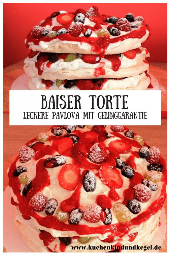 Lust auf eine sommerliche Torte? Wie wäre es mit einer Baiser Torte, auch Pavlova genannt? Mit meinem Rezept gelingt euch der Baiser garantiert, denn ich verrate euch einige Tipps und Tricks für eine perfekte Pavlova! Ein unglaublicher Genuss! Viel Spaß beim Nachbacken!