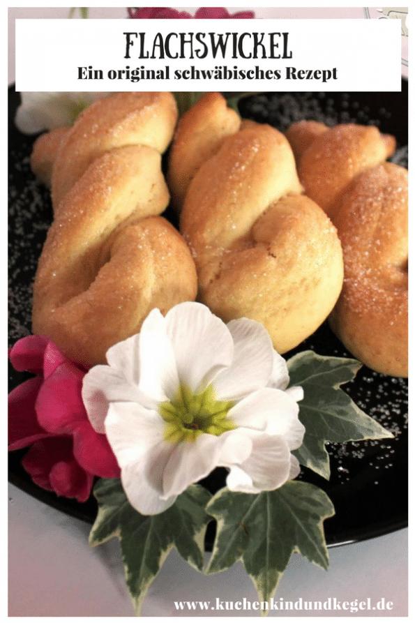 Kennt ihr die schwäbischen Flachswickel? Diese süße Leckerei ist schnell gemacht und kann lange aufbewahrt werden. Probiert es einfach mal aus, viel Spaß beim Nachbacken!