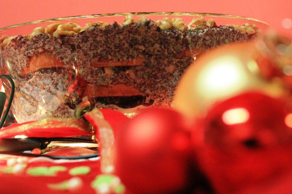 Makowki, polnisches Dessert zu Weihnachten, Weihnachten, Nachtisch, Nachspeise, Dessert, polnisches Rezept, polinische Rezepte