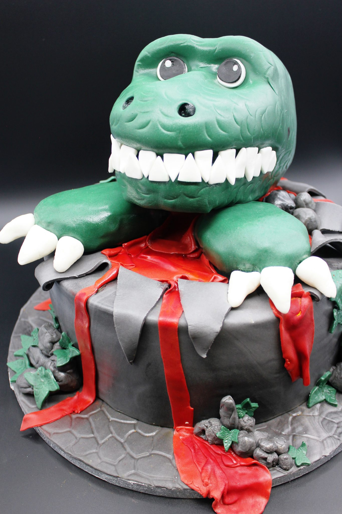 Dino-Party, Dino Motivtorte, Dino Mottoparty