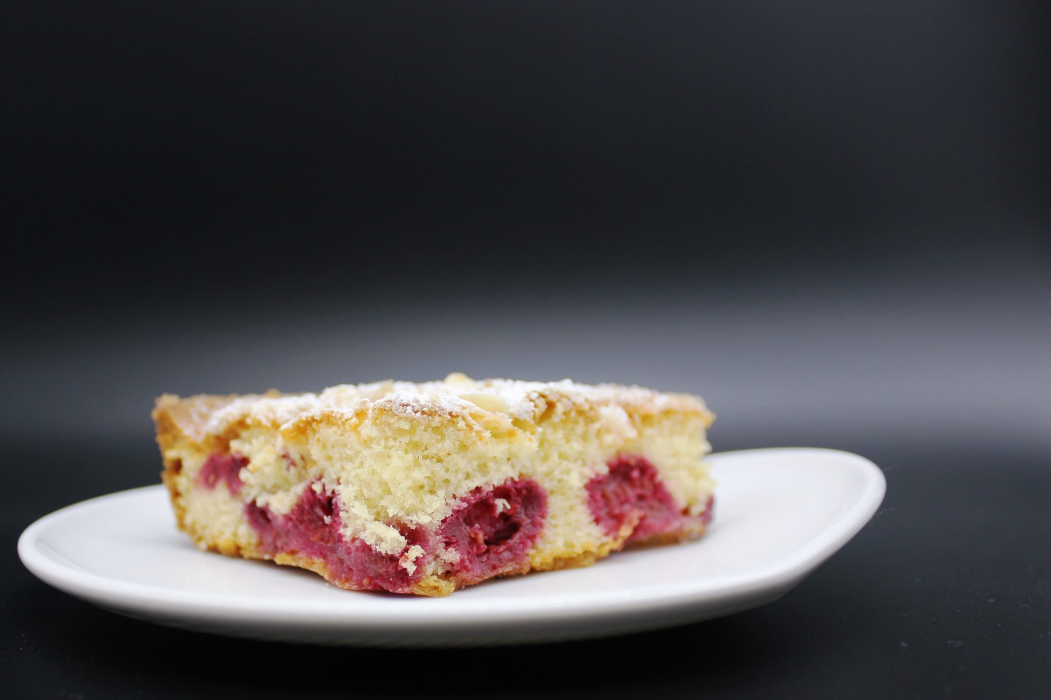 Himbeerkuchen vom Blech, Blechkuchen mit Himbeeren, Kuchen mit TK Himbeeren, TK Himbeeren verarbeiten, Kuchen schnell, Kuchen Rezept einfach