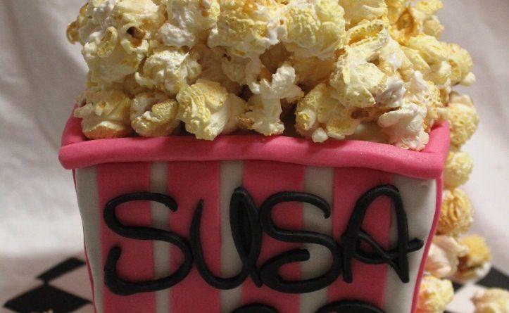 Geburtstagstorte, Motivtorte, Torte zum Geburtstag, Geburtstag, Popcorn, Kino, Gutschein