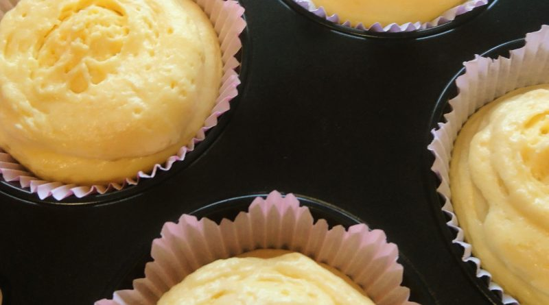 Backen mit Kindern - saftige Zitronenmuffins