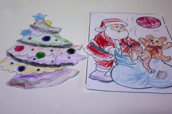 Basteln, Weihnachten, DIY, DIY mit Kindern, Basteln mit Kindern, Kinder Kunst, Basteln mit Kindern, Weihnachtliches Windlicht, Windlicht basteln, Windlicht, Weihnachtsdeko, Weihnachtsdekoration