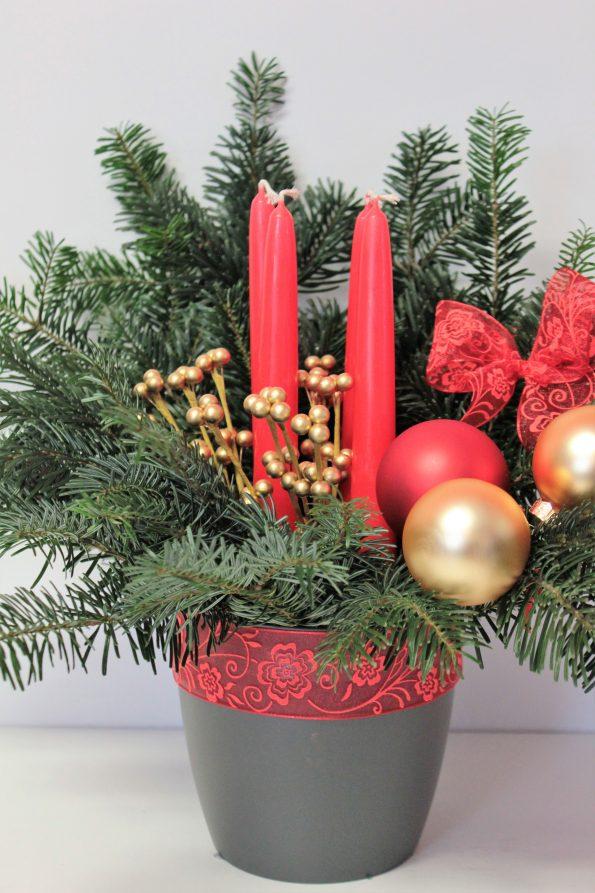 Advent, Adventsgesteck, Adventskranz, Weihnachten, Weihnachtsstimmung, Basteln für Weihnachen, Weihnachten DIY, DIY