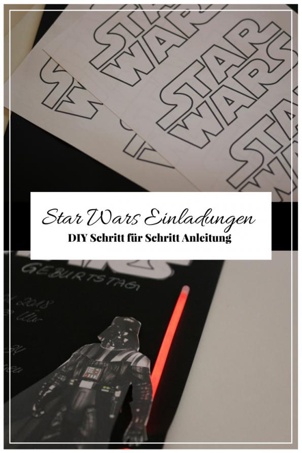Euer Kind wünscht sich einen Star Wars Kindergeburtstag oder eine Star Wars Party? Ich zeige dir, wie du mit einfachen MItteln tolle Star Wars Einladungen basteln kannst die alle Begeistern werden. Natürlich Schritt für Schritt, mit einer bebilderten Anleitung. Incl. aller Produkte die du brauchst, bereits verlinkt und bereit zum shoppen!