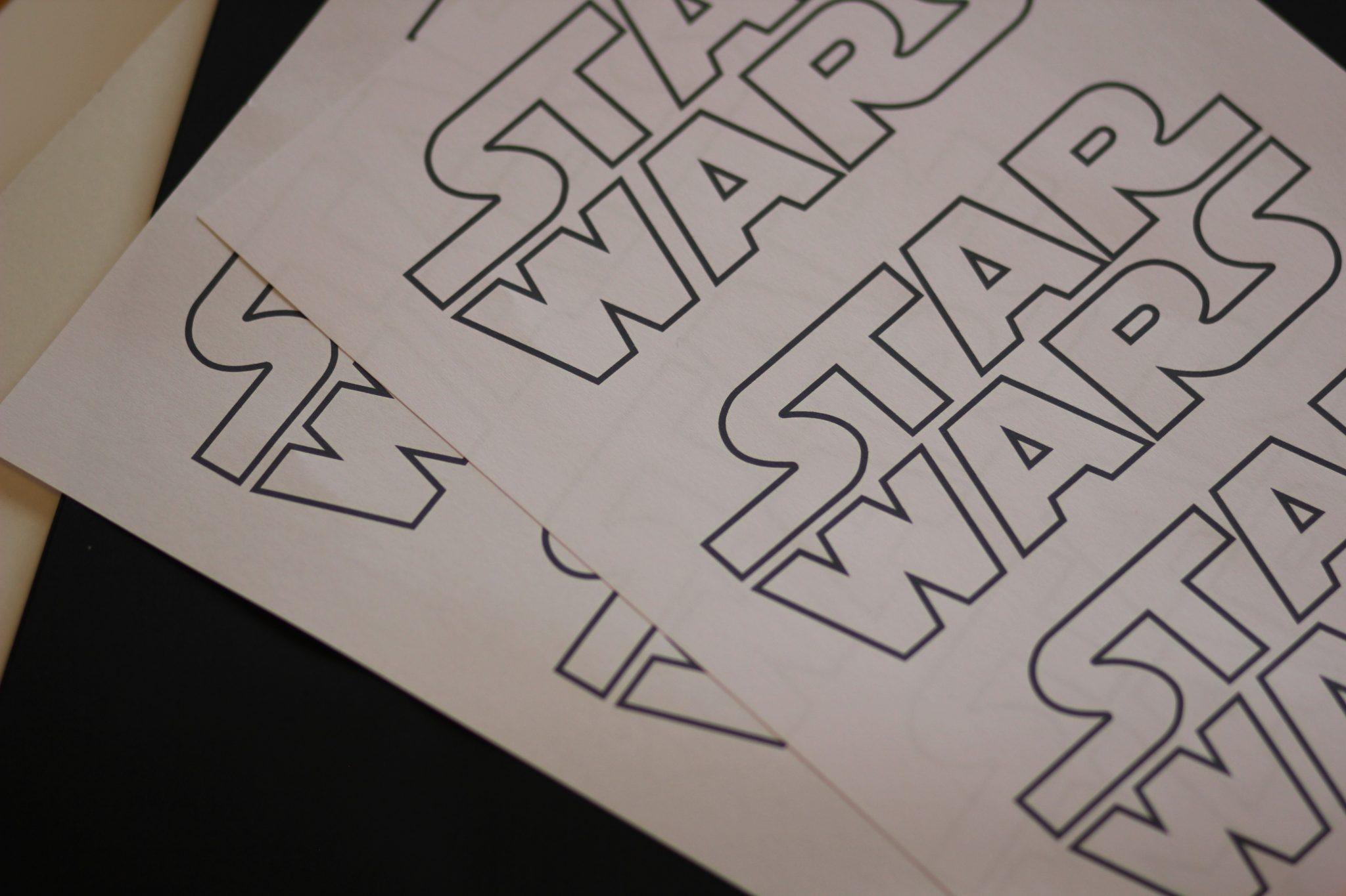 DIY   Star Wars Einladungen Basteln Für Den Star Wars Kindergeburtstag