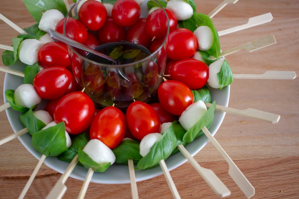 Fingerfood Buffet - Rezepte für den perfekten Einstand! Speiseplan für die Woche 01/2020