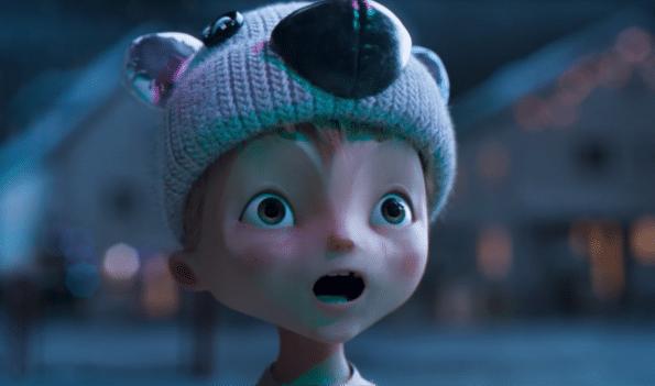 Penny Weihnachten braucht nicht viel, außer Liebe, Eisbär Nuno erfüllt Herzenswünsche (4)