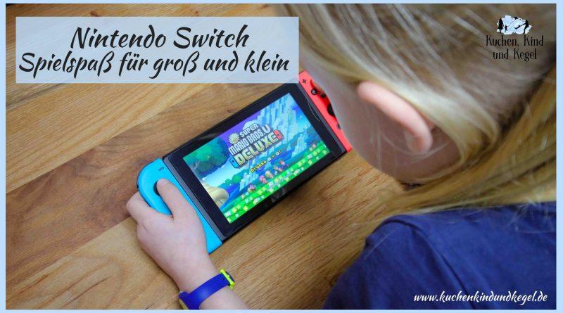 Nintendo Switch - Spielspass für groß und klein, Speiseplan für die Woche 52/2019