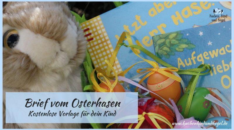 Brief vom Osterhasen an dein Kind