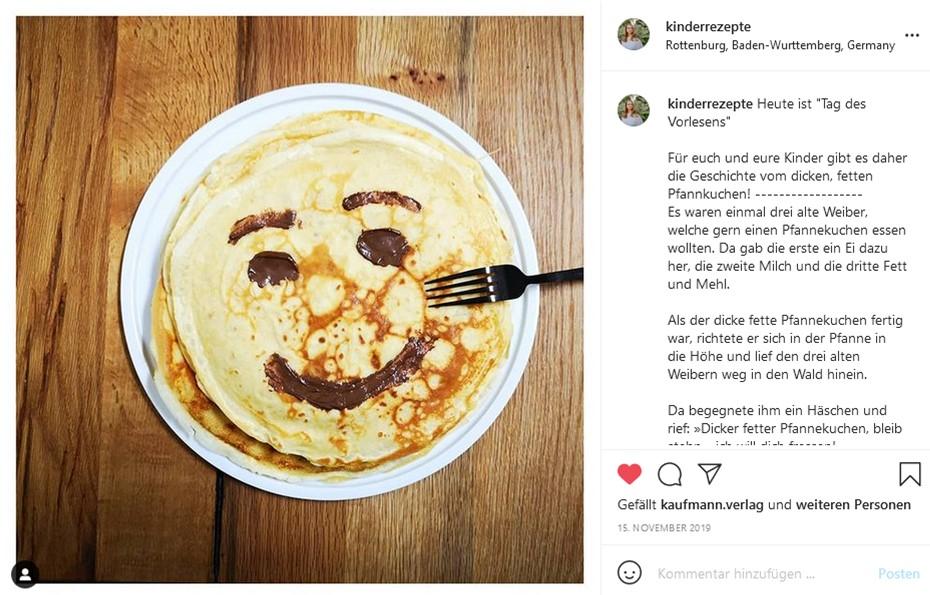 Pfannkuchen, Foodart, Foodart für Kinder, Kinderteller, Kinderteller anrichten